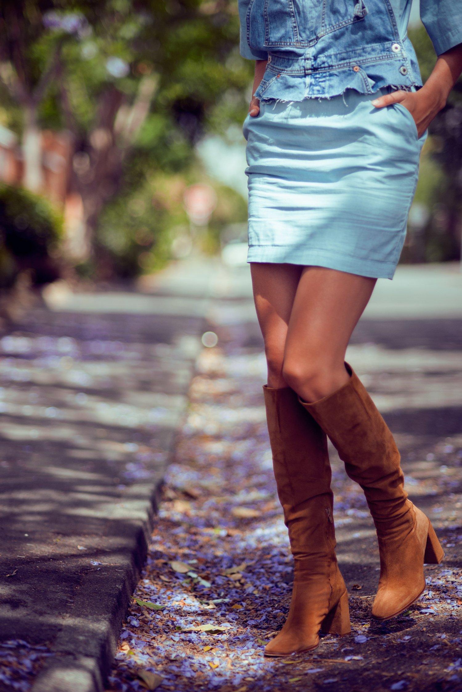 zara tan boots