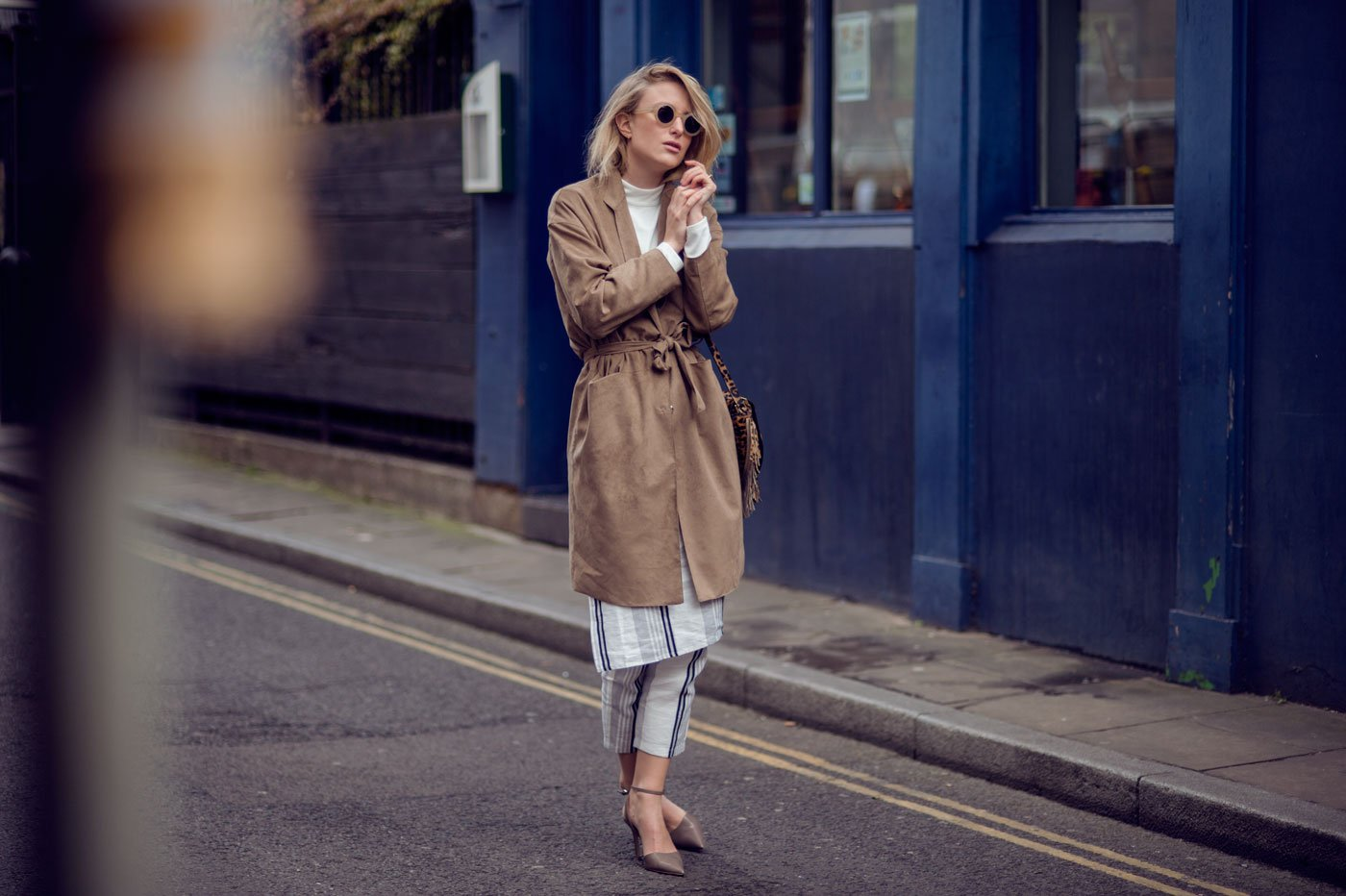 filippa k suede coat 70s