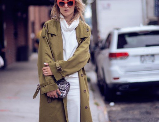 oversized coat fashion blogger
