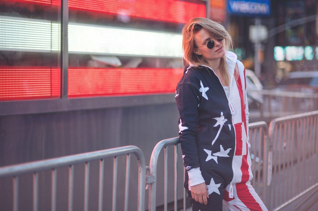 stars stripes onesie
