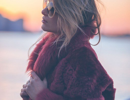 sunset fashion blogger
