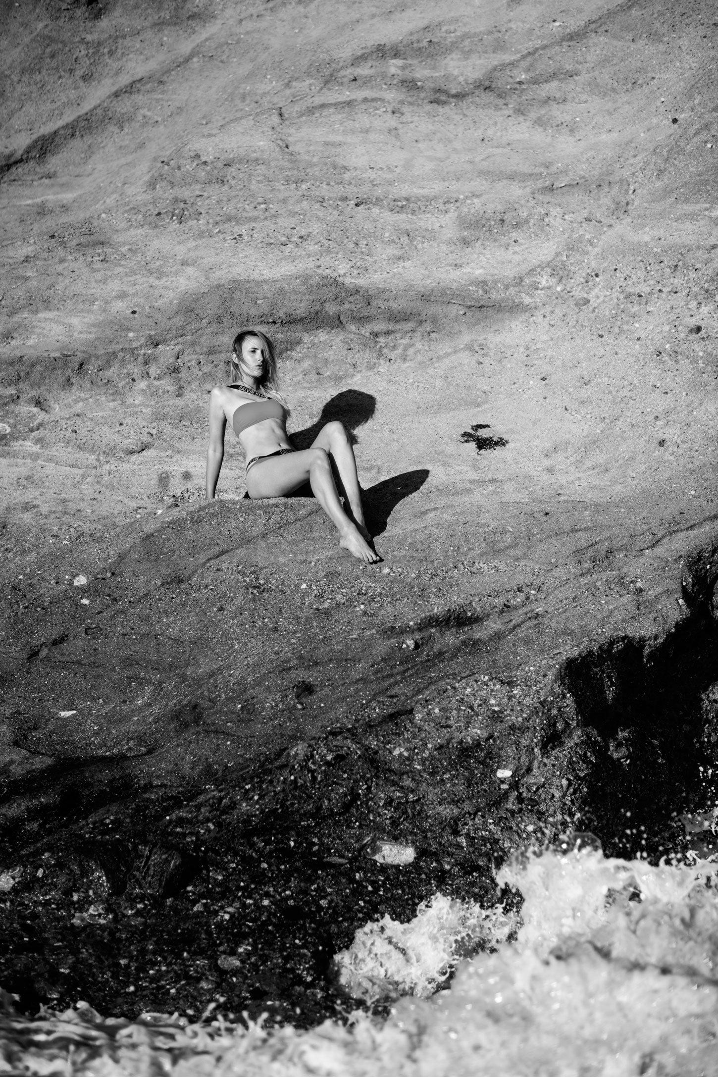 rebecca laurey calvin klein bikini