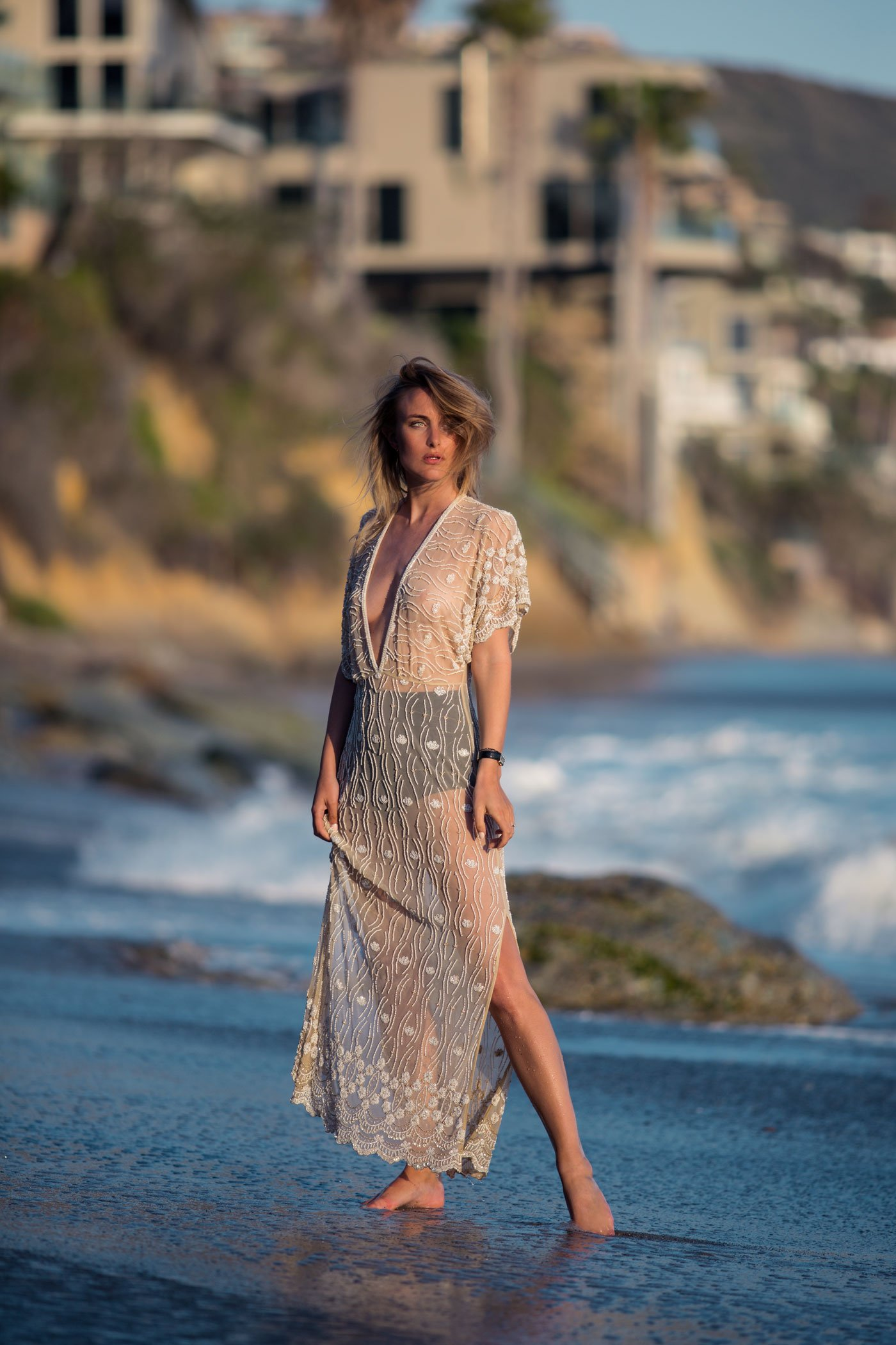 rebecca laurey beaded dress