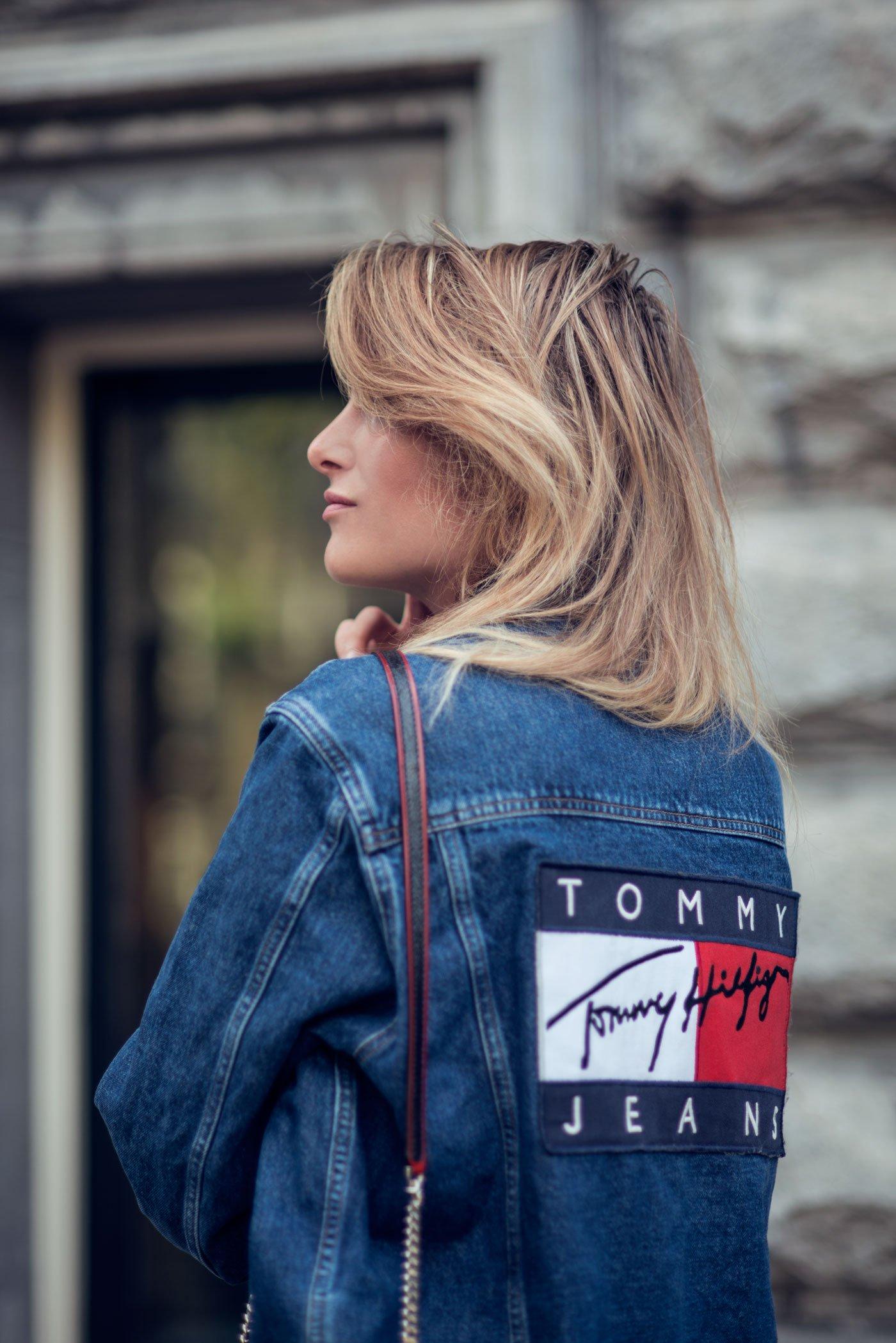 rebecca laurey tommy hilfiger denim jacket