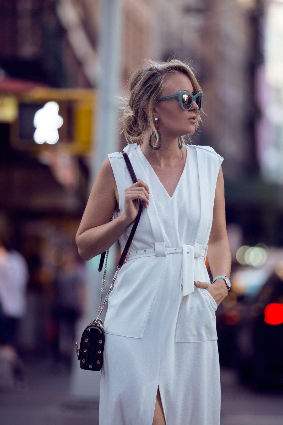 rebecca laurey white dress tibi nyfw