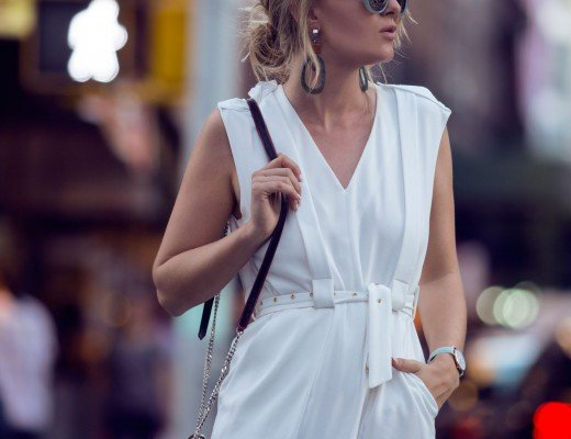 rebecca laurey white dress tibi nyfw
