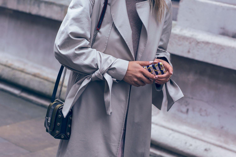rebecca laurey oversized trench coat