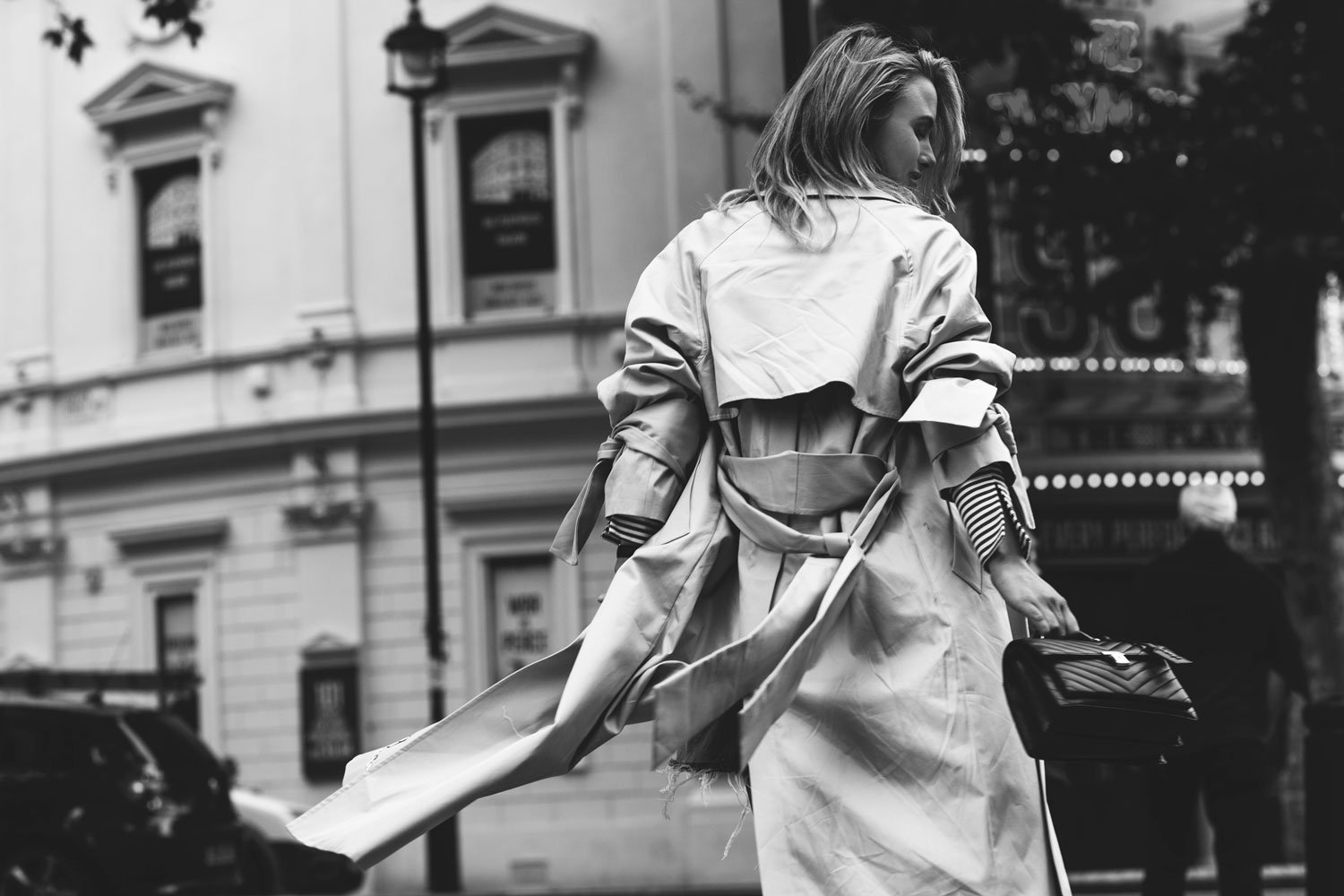rebecca laurey oversized trench coat