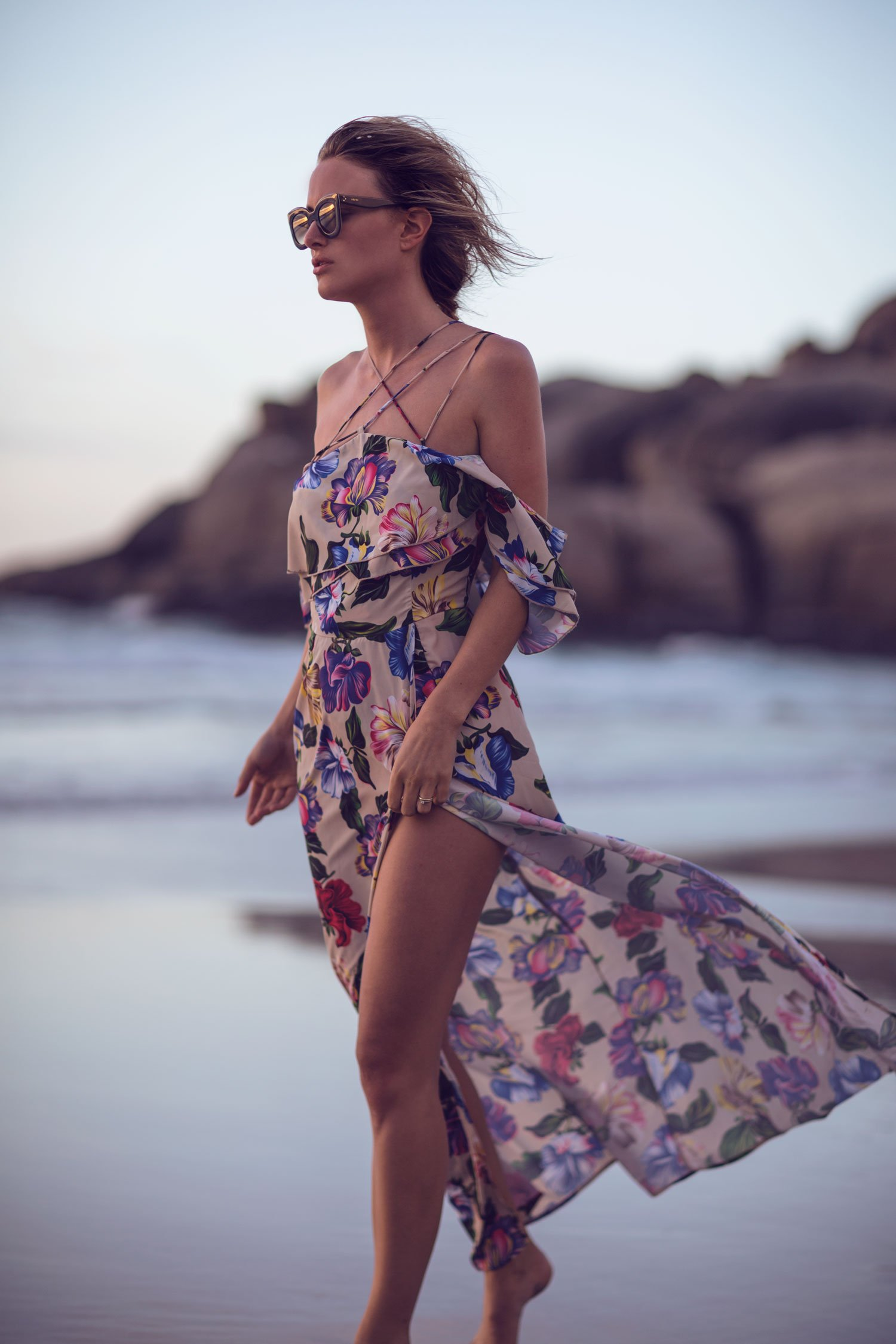 rebecca laurey floral dress