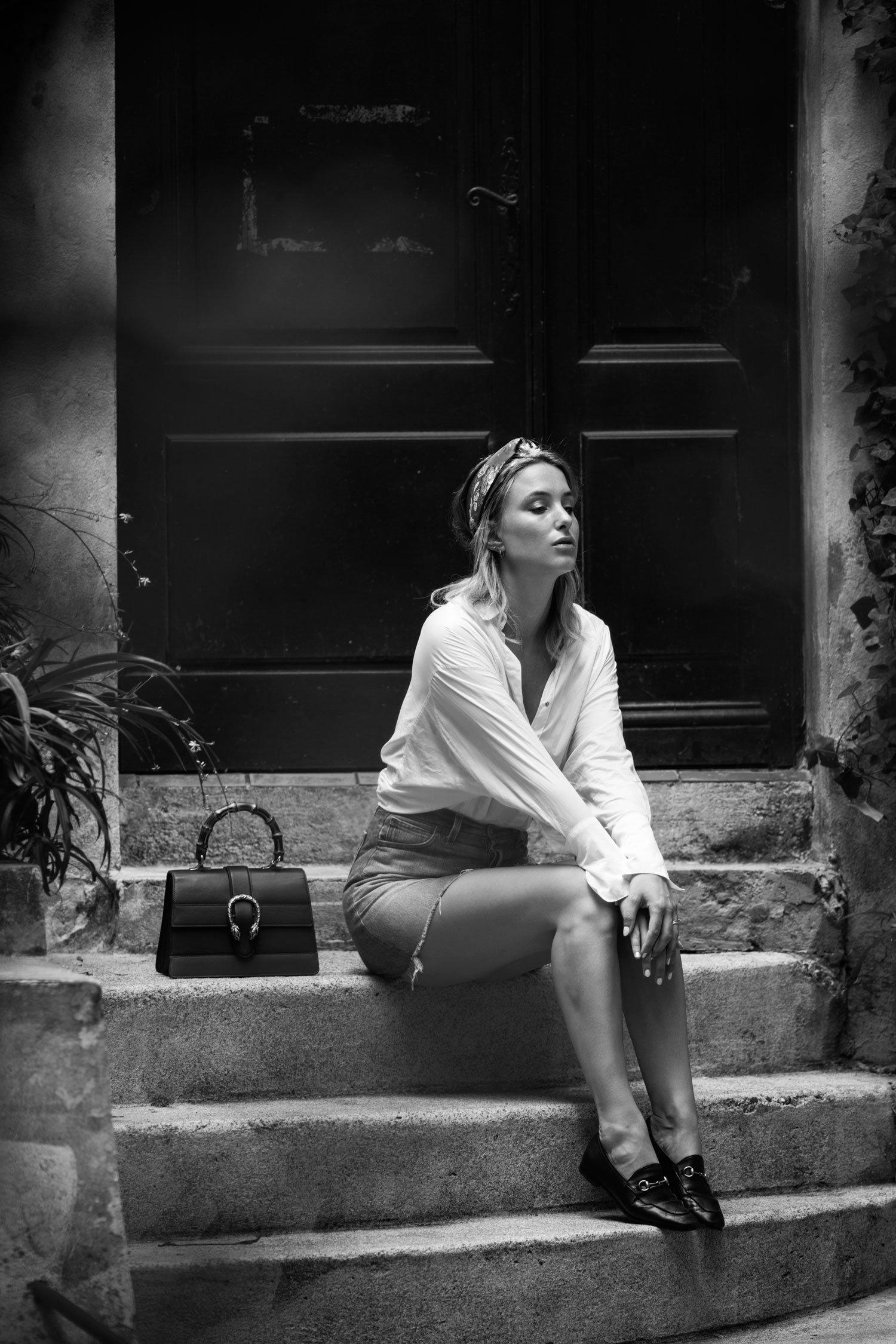 rebecca laurey gucci bag