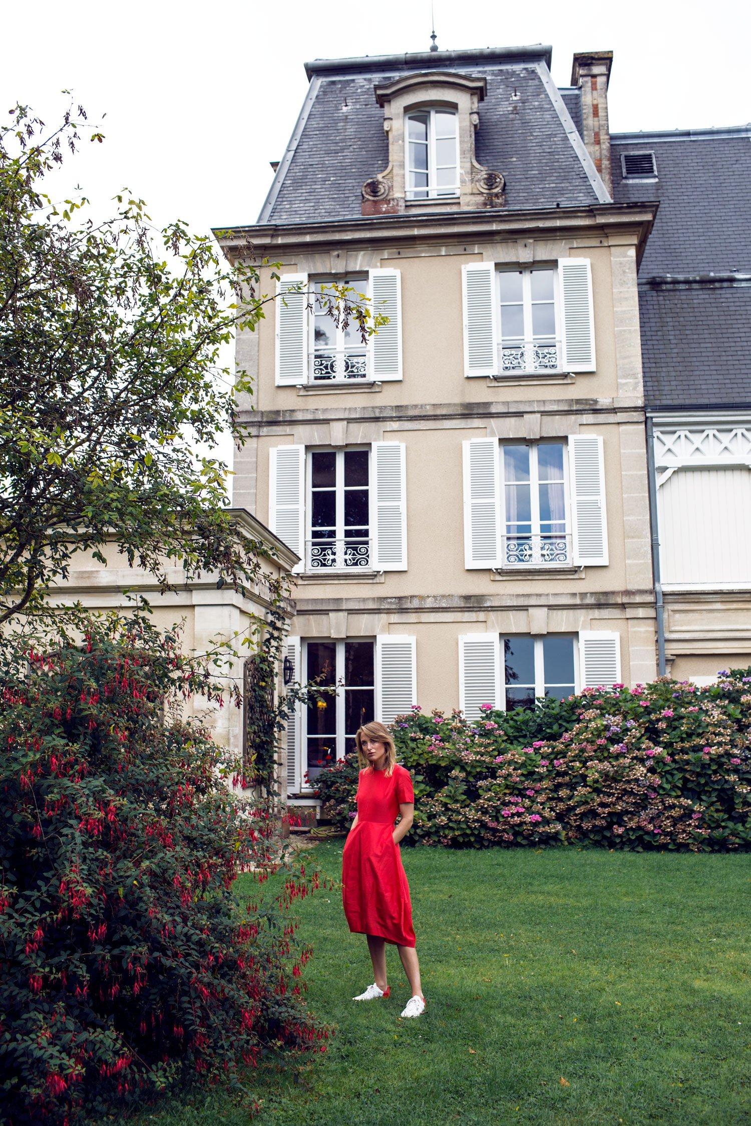 rebecca-laurey-hotel-normandy-red-dress